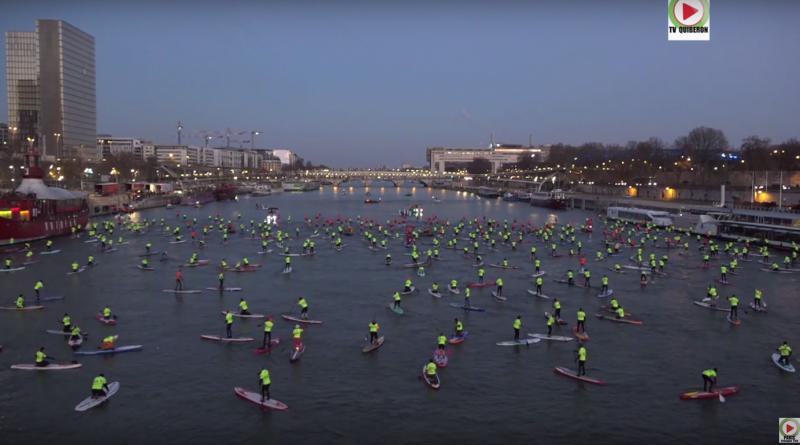 Du Surf sur la Seine à Paris !