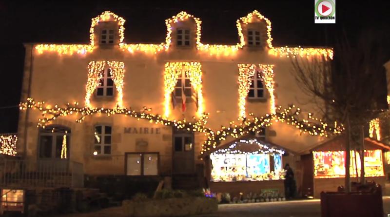 Rochefort-en-Terre illuminations de Noel 2016