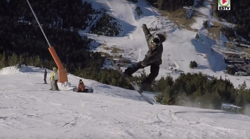 ANDORRA: Action Snowboard à Grau-Roig