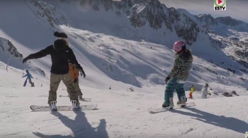 ANDORRA: Coll Blanc Snowboard