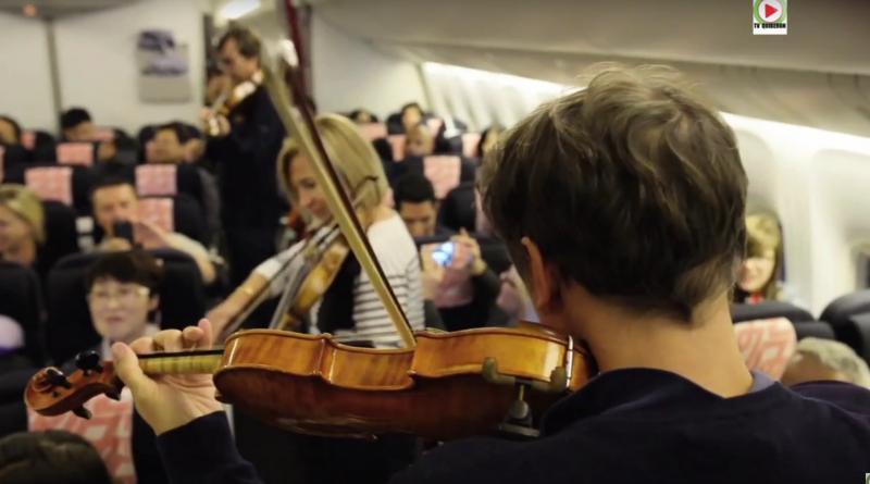 Paris Bretagne Télé: Ensemble Matheus Concerto pour Boeing 777