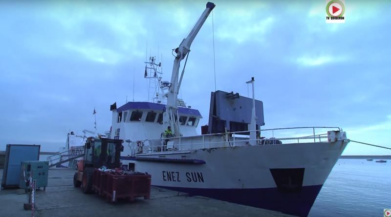 Bretagne Télé: L'Enez Sun III roi du Raz de Sein