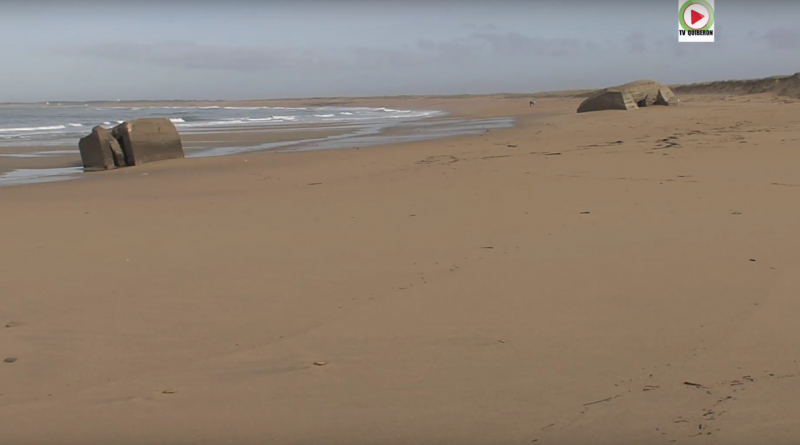 Bretagne Télé: Erdeven Naked Beach