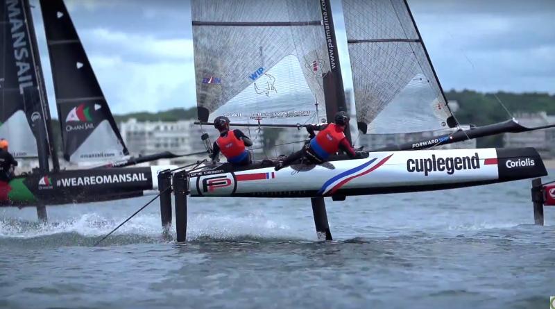 Foiling Bay 2017 La-Baule - Sailing BRETAGNE Télé