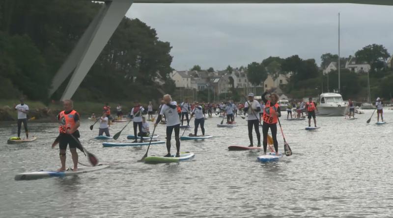 Ils marchent sur l'eau - Auray Bretagne Télé