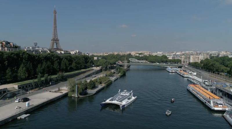 Bretagne Télé: Voyage d'Energy Observer à Paris
