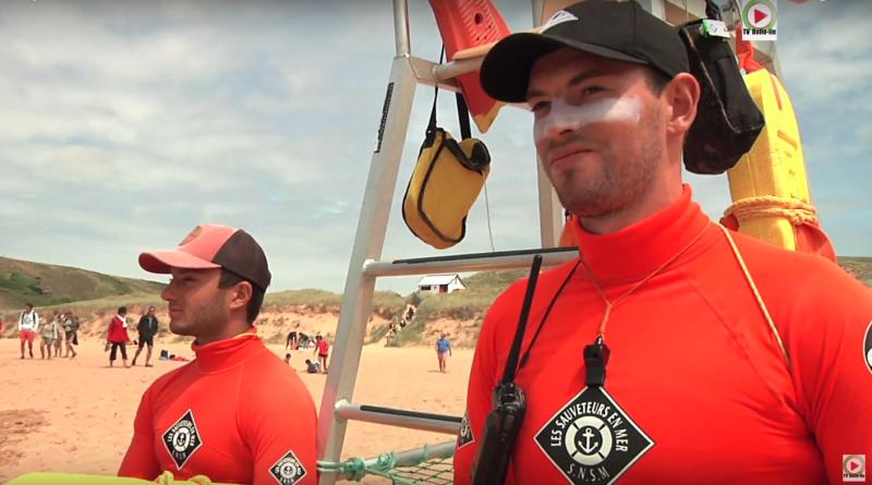 Lifeguards SNSM Donnant-Beach 2017 - TVBI Belle-Ile