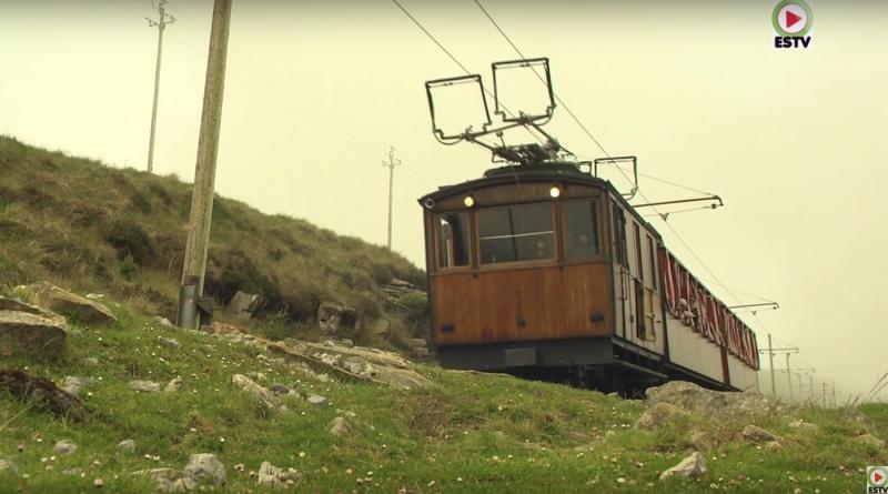 La RHUNE: Le petit train à crémaillere