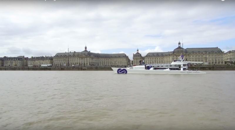 Bordeaux: Le navire Hydrogene - Bordeaux Bretagne télé