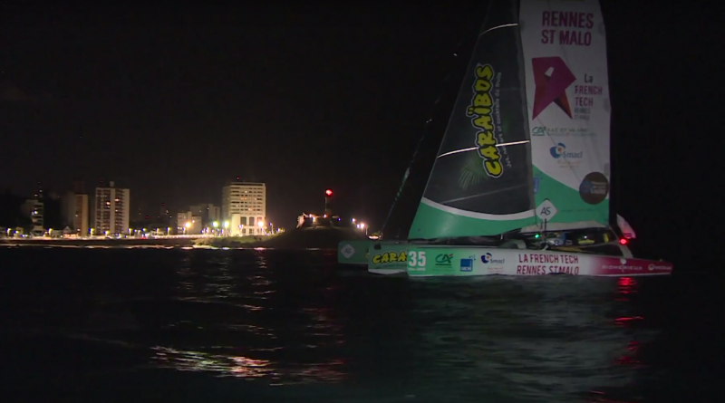 Gilles Lamiré boucle la Transat - Le Havre Bretagne Télé