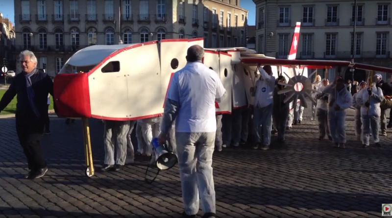 Crash Avion Nantes ( fictif) - Nantes Bretagne Télé