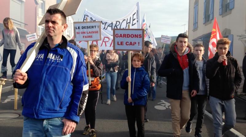 Cap-Sizun: SOS Lycée Jean Moulin - Bretagne Télé