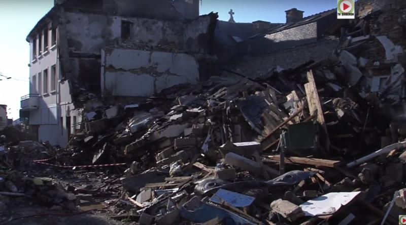 Explosion scene de guerre - TV Quiberon 24/7