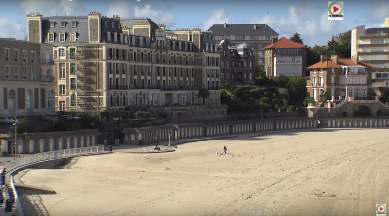 Dinard: La bonne Plage de l'Ecluse - Bretagne Télé