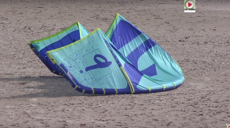 Kitesurfing dans la Baie - Télé La Baule