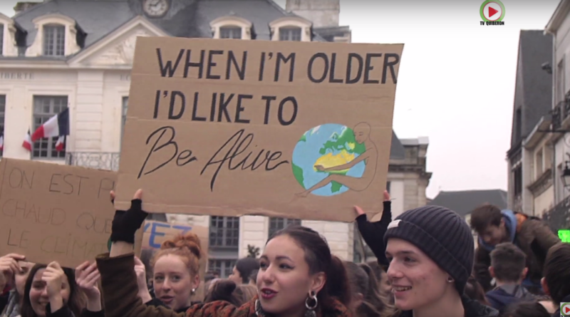 Auray: Youth For Climate - TV Quiberon 24/7