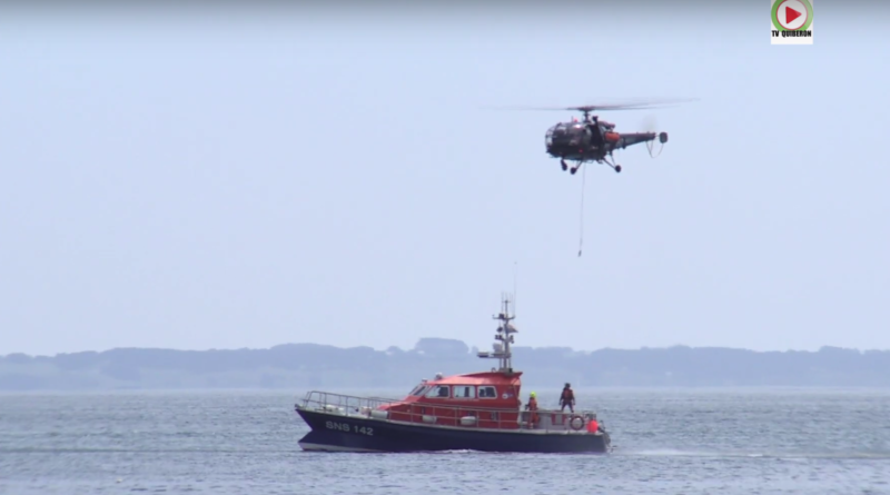 L' Alouette 3 et la SNSM - TV Quiberon 24/7