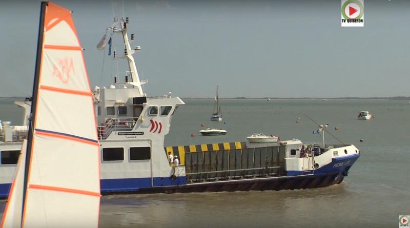 Le ferry Pierre Loti - Ile d'Aix TV