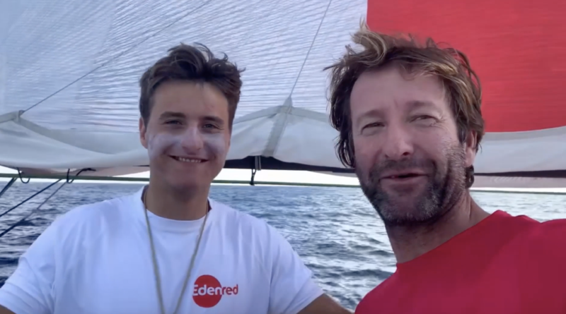 Transat Jacques Vabre: Basile Bourgnon - TV Quiberon Sailing