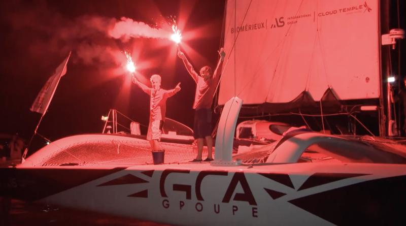 Gilles Lamiré gagne la Transat Jacques Vabre - Bretagne Télé