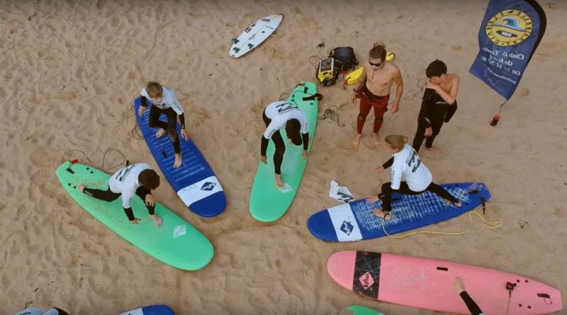Clip Belle-Ile Surf Club - TVBI Belle-Ile Télévision