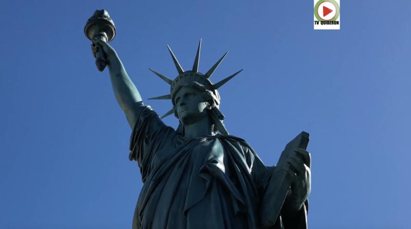 La Statue de la Liberté de Gourin - Bretagne Télé