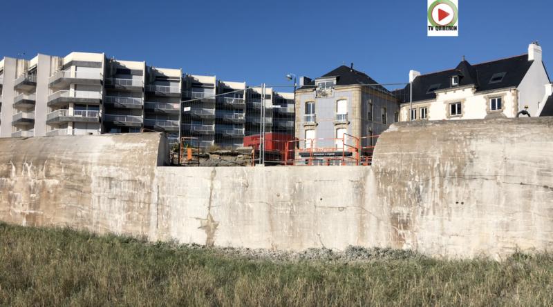 Quiberon | Le mur de l'Atlantique entaillé - TV Quiberon 24/7