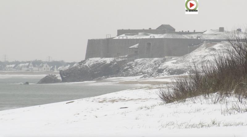 Quiberon - La neige dans la Presqu'ile - TV Quiberon 24/7