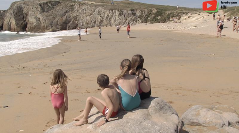 Saint-Pierre Quiberon | La plage de Port Blanc - Bretagne Télé