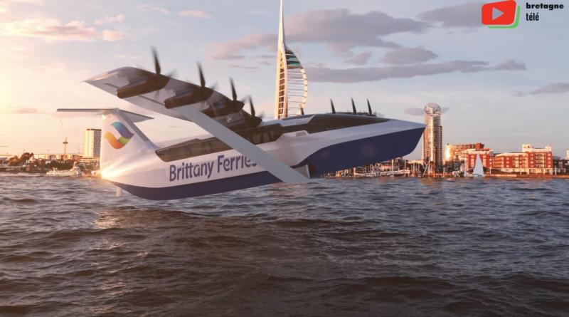 Brittany Ferries | Le ferry volant électrique - Bretagne Télé