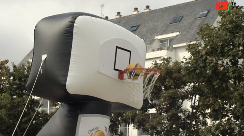 Quiberon | L'Estival Basket Tour, c'est gonflé - TV Quiberon 24/7