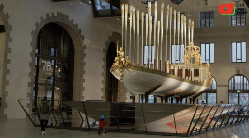 Brest | Le sublime Canot de l'Empereur - Brest Bretagne Télé