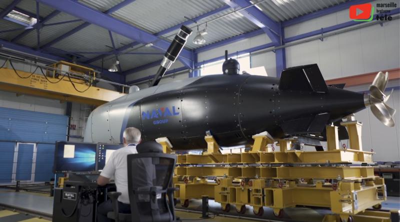 Toulon | Drone sous-marin Naval Group - Marseille Bretagne Télé